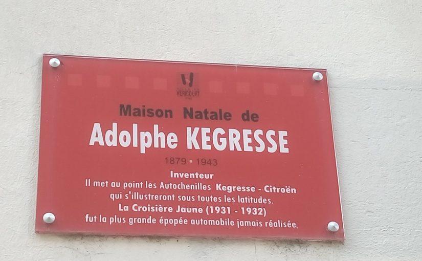 Maison natale d'Adolphe Kegresse